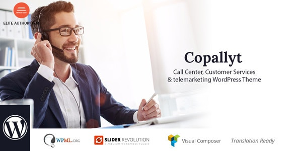 Copallyt v3.1 — Call Center & Telemarketing WordPress Theme