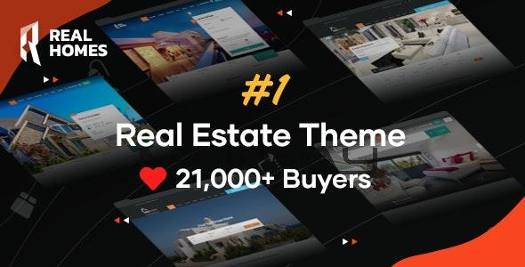 Real Homes v3.10.1 — WordPress Real Estate Theme