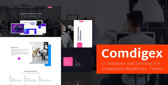 Comdigex v1.1 — IT Solutions and Services Company WP Theme