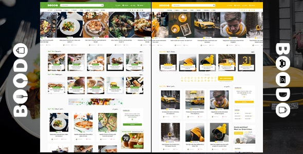 Boodo WP v2.2 — Food and Magazine Shop WordPress Theme